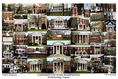 University Of Mary Washington Campus Art Prints Photos
