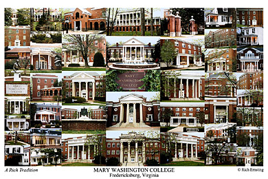 Mary Washington College Campus Art Prints Photos Posters