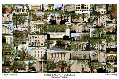 Mary Baldwin College Campus Art Prints Photos Posters