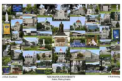 Neumann University Campus Art Prints Photos Posters