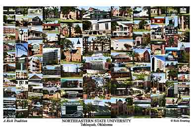 Northeastern State University Campus Art Prints Photos