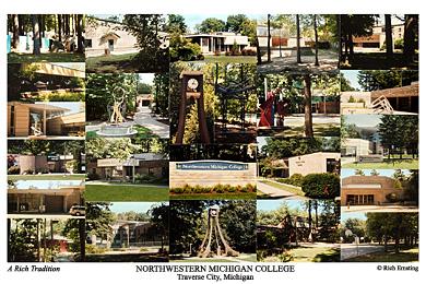 Northwestern Michigan College Campus Art Prints Photos