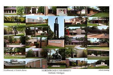 Northwood University Campus Art Prints Photos Posters