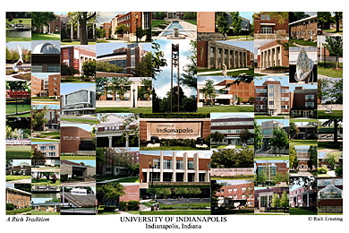 University Of Indianapolis Campus Art Prints Photos Posters