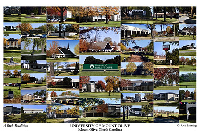 University Of Mount Olive Campus Art Prints Photos Posters
