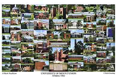 University Of Mount Union Campus Art Prints Photos Posters
