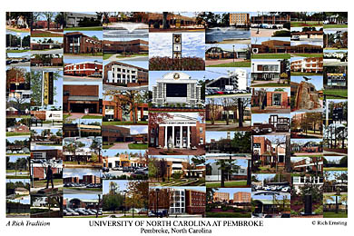 University Of North Carolina Pembroke Campus Art Prints