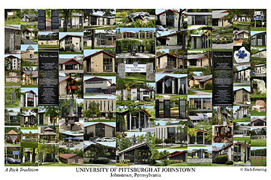 University Of Pittsburgh At Johnstown Campus Art Prints