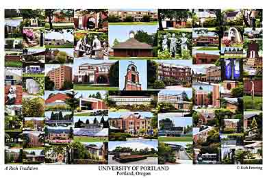 University Of Portland Campus Art Prints Photos Posters