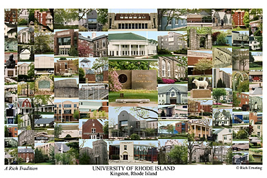 University Of Rhode Island Campus Art Prints Photos Posters