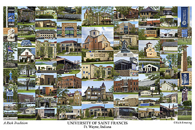 University Of Saint Francis Campus Art Prints Photos Posters