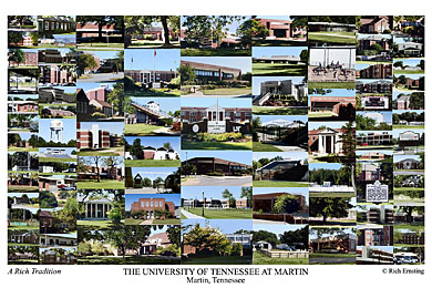 University Of Tennessee At Martin Campus Art Prints