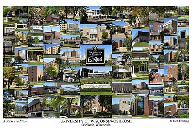 University Of Wisconsin Oshkosh Campus Art Prints Photos