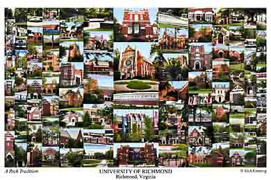 University Of Richmond Campus Art Prints Photos Posters