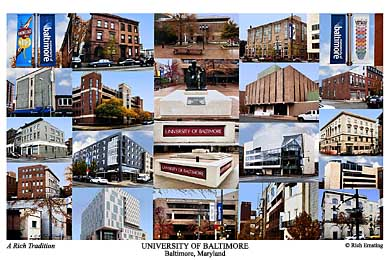 University Of Baltimore Campus Art Prints Photos Posters