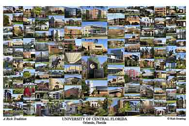 University Of Central Florida Campus Art Prints Photos