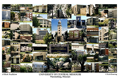University Of Central Missouri Campus Art Prints Photos