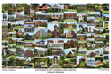 University Of Central Oklahoma Campus Art Prints Photos
