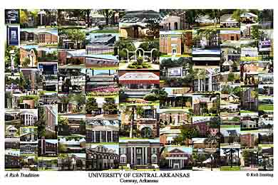 University Of Central Arkansas Campus Art Prints Photos