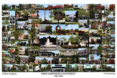 Ohio Northern University Campus Art Prints Photos Posters
