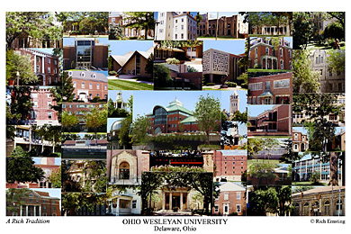 Ohio Wesleyan University Campus Art Prints Photos Posters