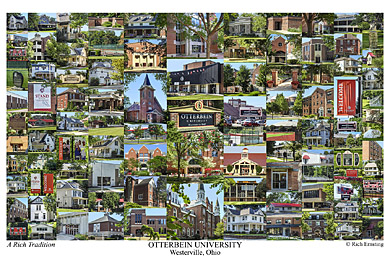 Otterbein University Campus Art Prints Photos Posters
