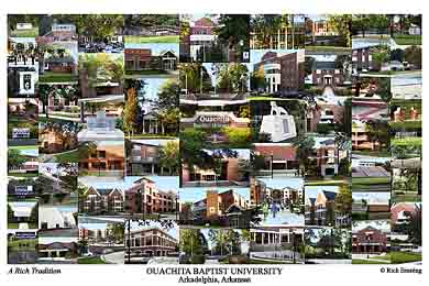 Ouachita Baptist University Campus Art Prints Photos Posters