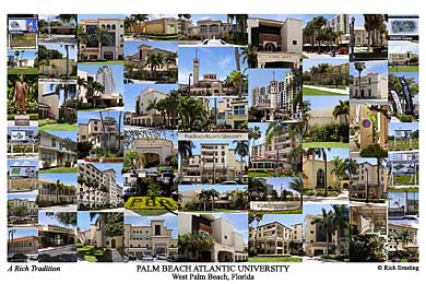Palm Beach Atlantic University Campus Art Prints Photos