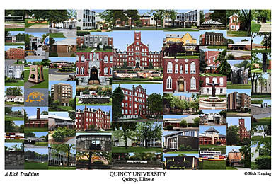 Quincy University Campus Art Prints Photos Posters