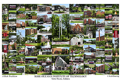 Rose Hulman Institute Of Technology Campus Art Prints