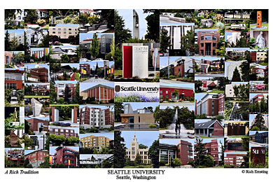 Seattle University Campus Art Prints Photos Posters