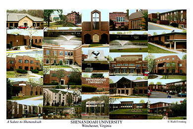 Shenandoah University Campus Art Prints Photos Posters