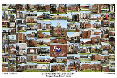 Shippensburg University Campus Art Prints Photos Posters