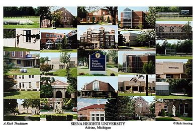 Siena Heights University Campus Art Prints Photos Posters
