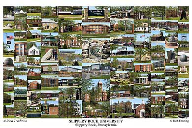 Slippery Rock University Campus Art Prints Photos Posters