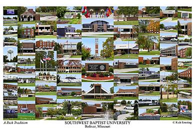 Southwest Baptist University Campus Art Prints Photos