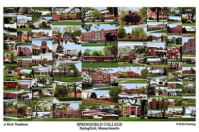 Springfield College Campus Art Prints Photos Posters