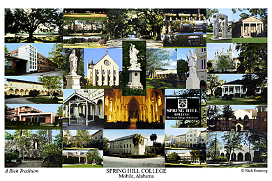 Spring Hill College Campus Art Prints Photos Posters