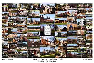 St Mary S College Of Maryland Campus Art Prints Photos