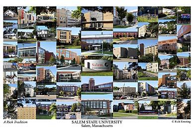 Salem State University Campus Art Prints Photos Posters