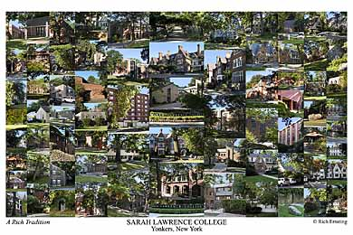 Sarah Lawrence College Campus Art Prints Photos Posters
