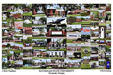 Savannah State University Campus Art Prints Photos Posters