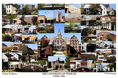 The University Of Findlay Campus Art Prints Photos Posters