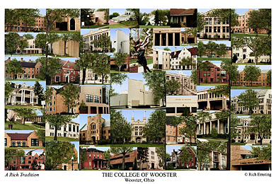 The College Of Wooster Campus Art Prints Photos Posters