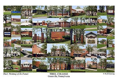 Thiel College Campus Art Prints Photos Posters
