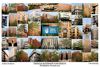 Thomas Jefferson University Campus Art Prints Photos Posters