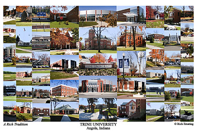 Trine University Campus Art Prints Photos Posters