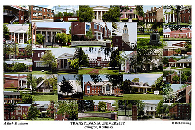 Transylvania University Campus Art Prints Photos Posters