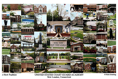 United States Coast Guard Academy Campus Art Prints