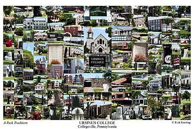 Ursinus College Campus Art Prints Photos Posters
